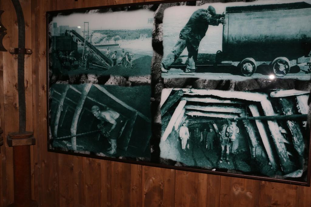 Área de minería de Ariño y presentación de la exposición