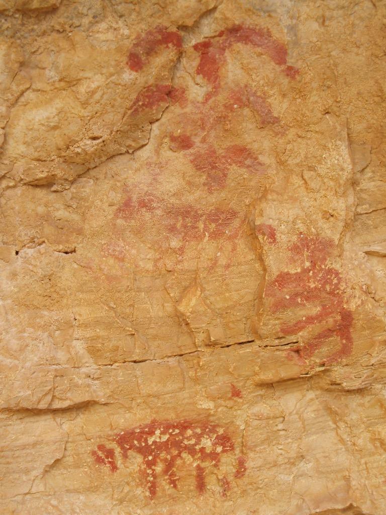 Pintura rupestre Los Chaparros – Albalate